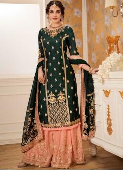 Lovely Viscose Designer Palazzo Salwar Suit
