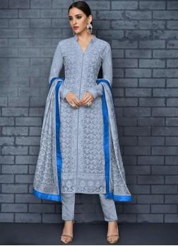 Magnificent Designer Salwar Suit For Festival
