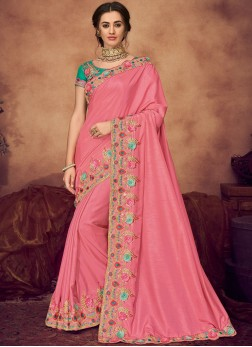 Mesmerizing Art Silk Wedding Classic Saree