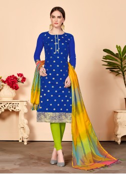 Modern Churidar Salwar Suit For Casual