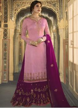 Modernistic Embroidered Wedding Designer Salwar Kameez