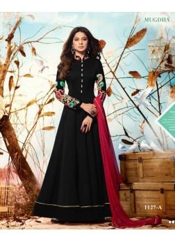 mugdha jenniffer winget black color salwar suits