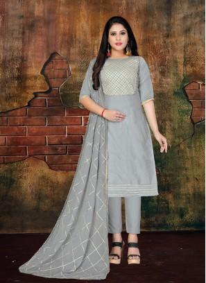 Orphic Art Silk Designer Salwar Kameez