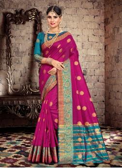 Paramount Weaving Ceremonial Traditional Designer Saree