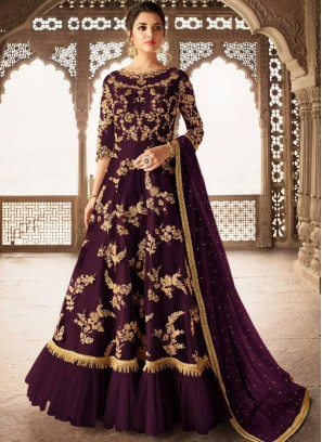 Peppy Anarkali Salwar Suit For Mehndi