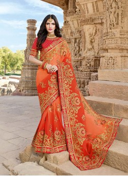 Perfect Designer Saree For Sangeet