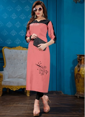 Perfervid Cotton Festival Party Wear Kurti