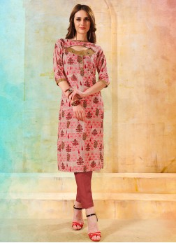 Phenomenal Multi Colour Designer Kurti