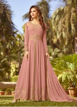 Pink Mehndi Designer Salwar Kameez