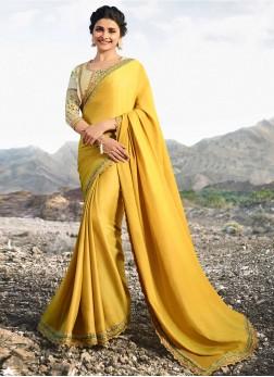Prachi Desai Art Silk Party Traditional Designer Saree