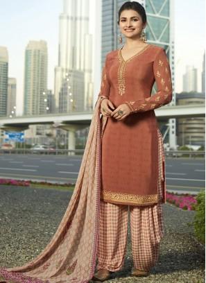Prachi Desai Resham Designer Pakistani Suit