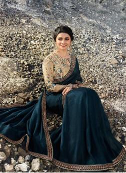 Prachi Desai Traditional Designer Saree