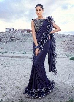 Prominent Fancy Fabric Classic Designer Saree
