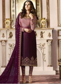 Purple Color Salwar Suit