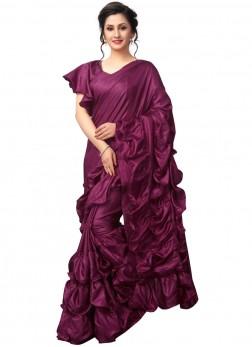 Purple Festival Classic Saree