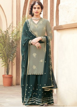 Radiant Embroidered Designer Pakistani Suit