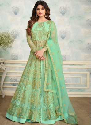 Shamita Shetty Embroidered Trendy Designer Lehenga Choli