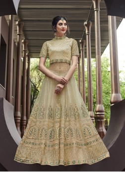 Snazzy Net Embroidered Anarkali Salwar Suit