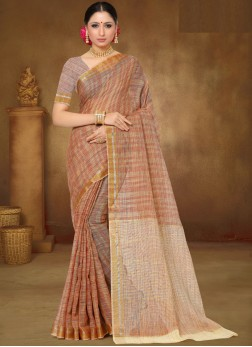 Sparkling Print Saree