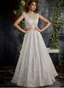 Spellbinding Stone Work Designer Gown