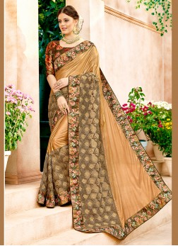 Sunshine Embroidered Festival Classic Designer Saree
