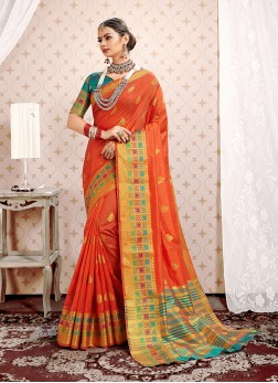 Superb Art Silk Festival Designer Traditional Saree
