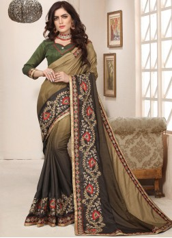 Unique Art Silk Trendy Saree