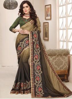 Unique Art Silk Trendy Saree