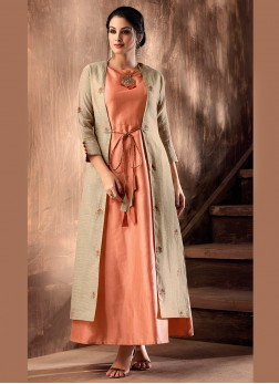 Vivid Party Wear Kurti For Party