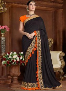 Winsome Art Silk Zari Classic Saree