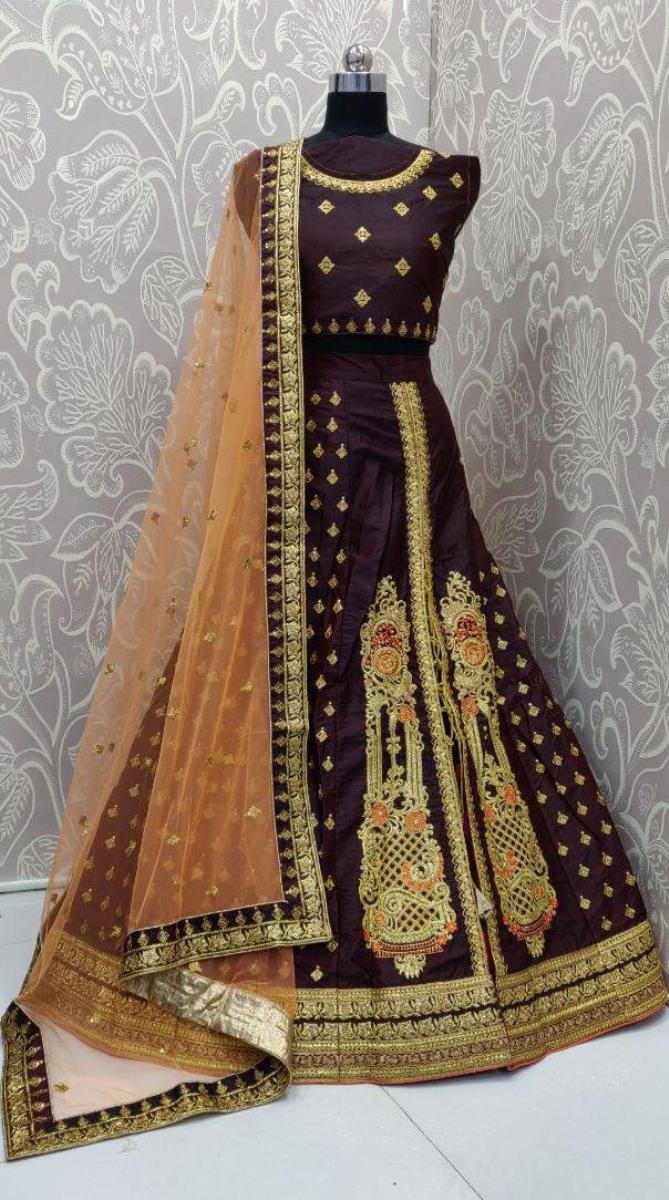 Adorable Doriwala Dualside Darkpurple Lehenga Choli