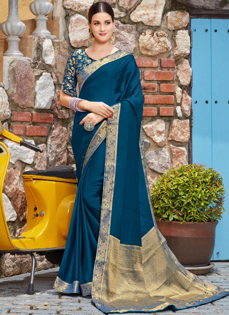 Affectionate Art Silk Lace Trendy Saree