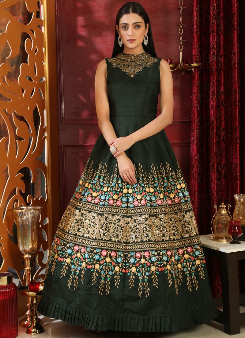 Affectionate Resham Designer Anarkali style Gown