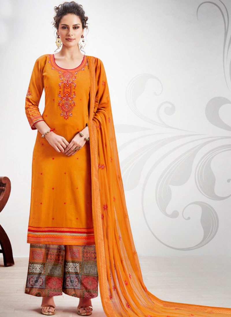 Amazing Designer Palazzo Salwar Suit For Party