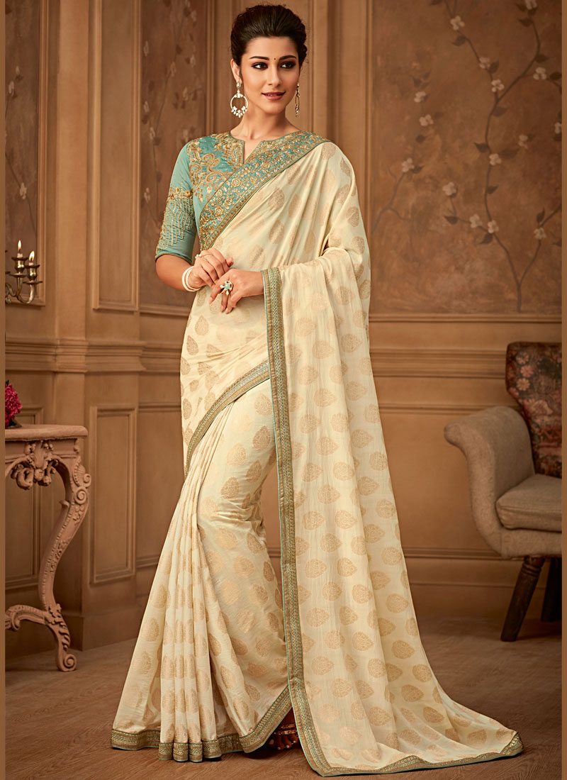 Attractive Banarasi Silk Trendy Saree