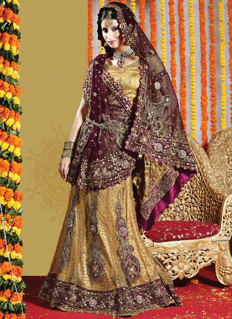 Best Embroidered Net Handwork Lehenga Choli
