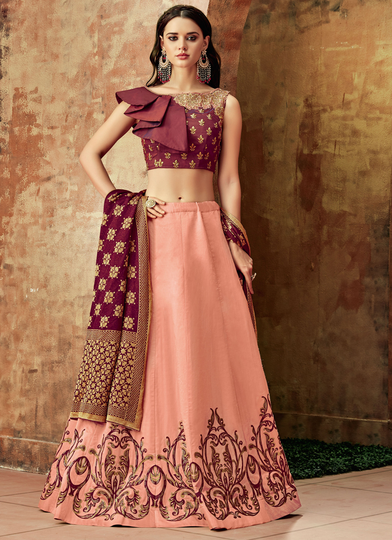 Breathtaking Pink Lehenga Choli