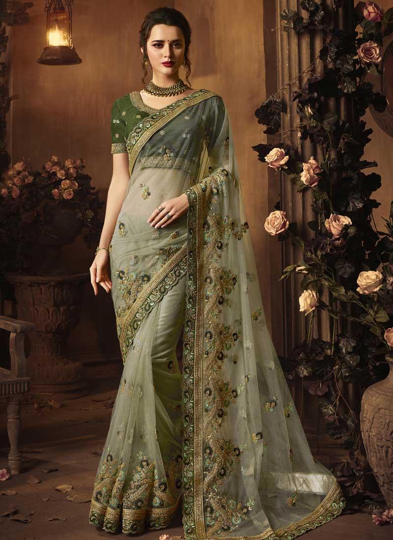 Charming Net Classic Designer Saree