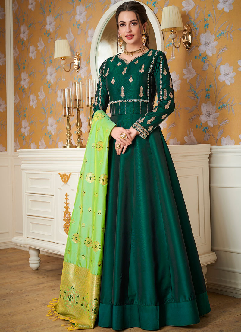 Dashing Readymade Gown  For Festival