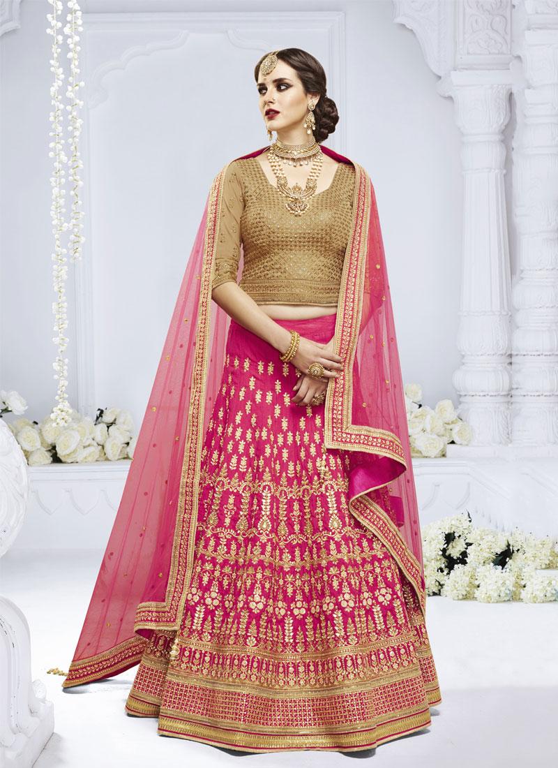 Desirable Net Embroidered Designer Lehenga Choli