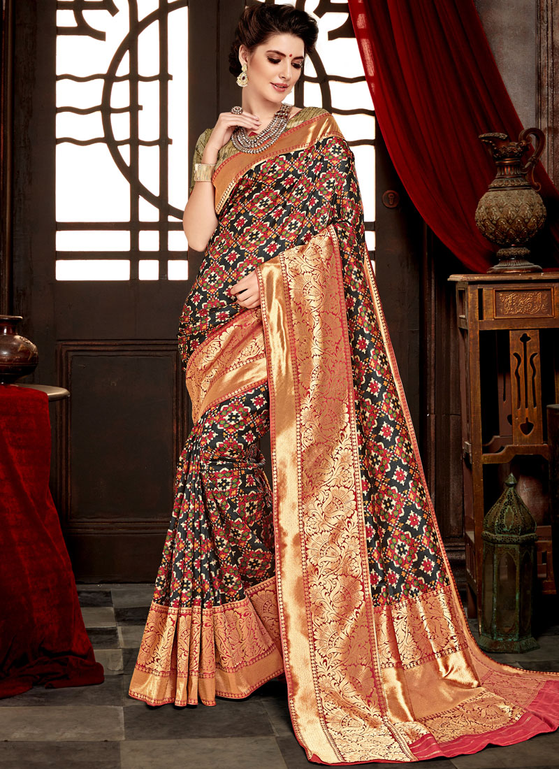Girlish Designer Saree For Wedding
