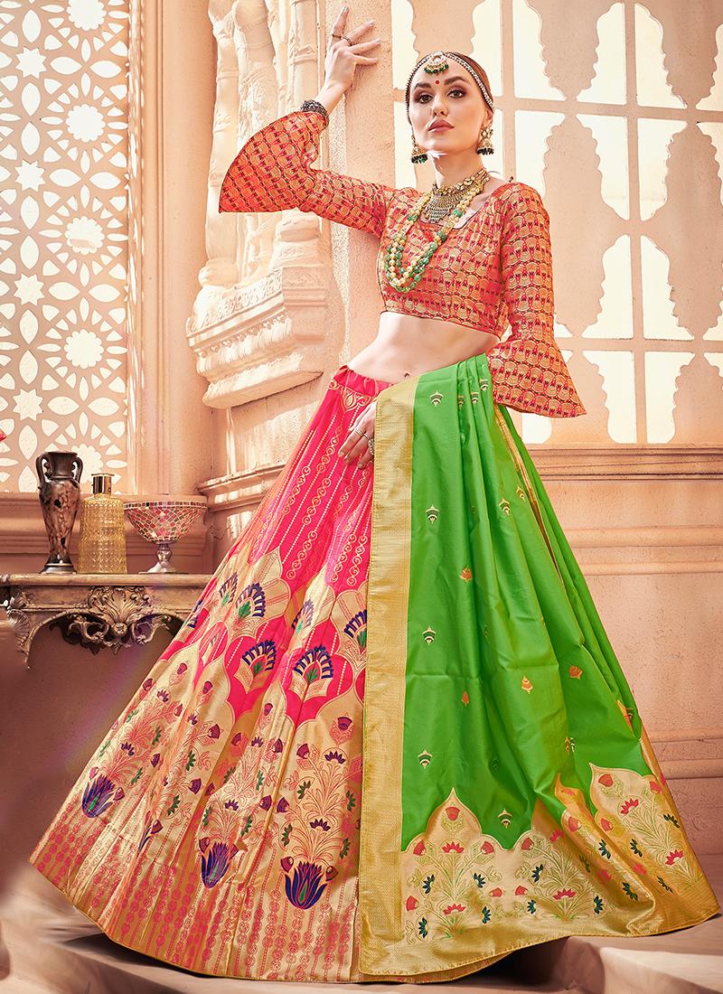 9bc6e7e596 Grandiose Art Silk Designer Lehenga Choli. Hover to zoom