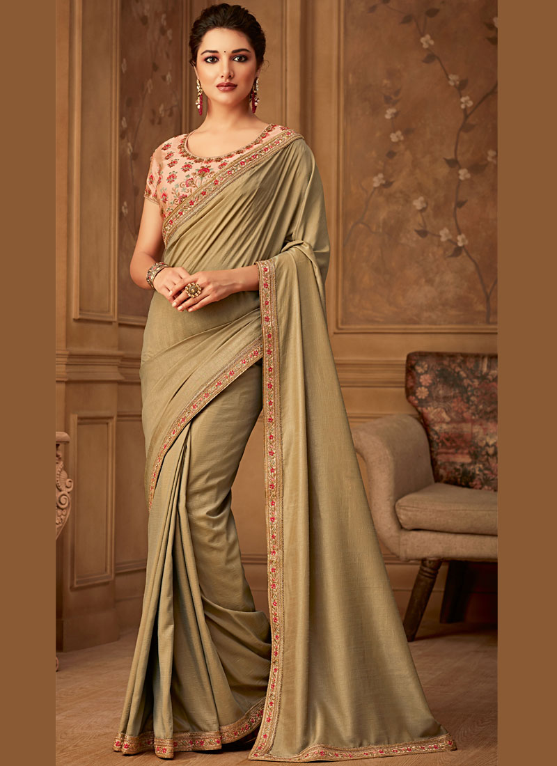 Green Wedding Designer Saree