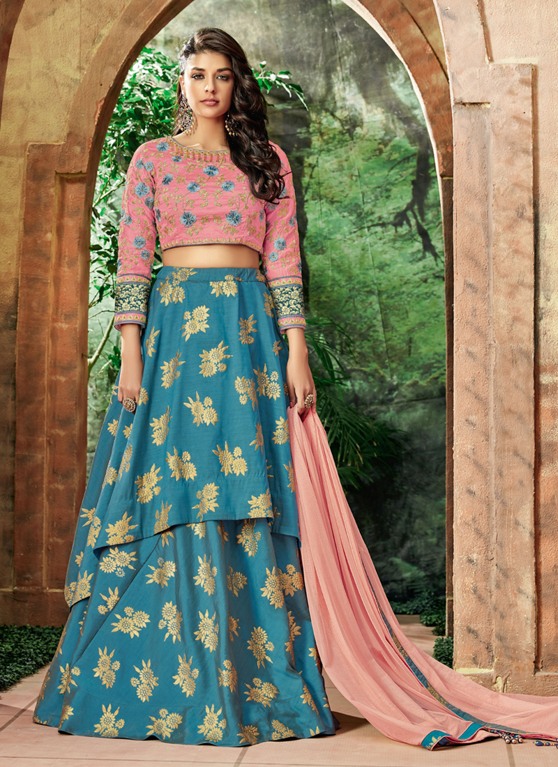 Groovy Resham Wedding Lehenga Choli