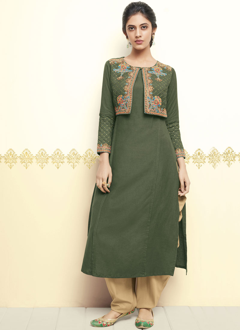 Honourable Thread Party Wear Kurti