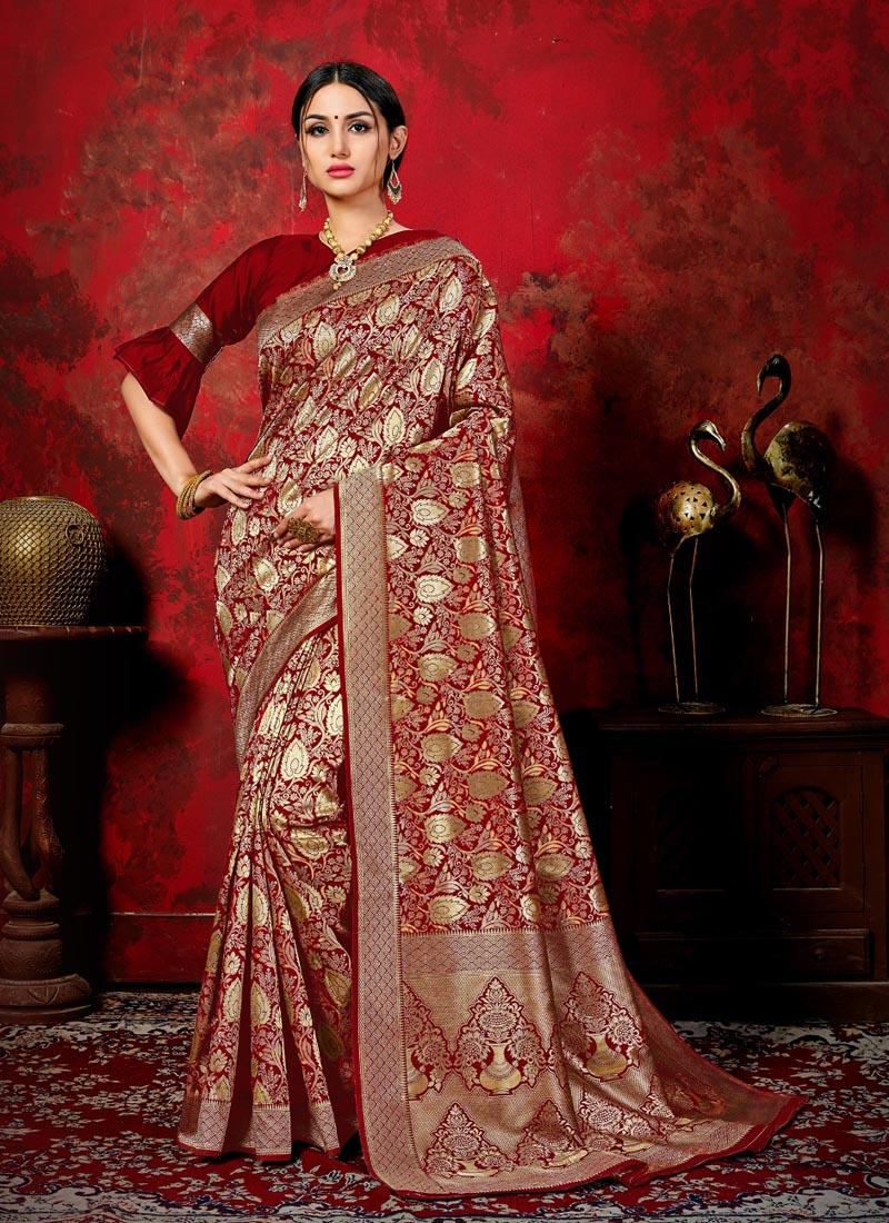 Imperial Banarasi Silk Woven Classic Saree