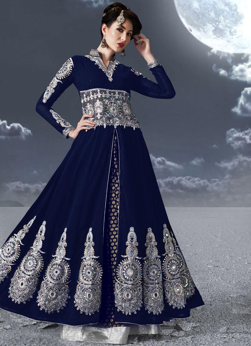 Imperial Resham Floor Length Anarkali Suit