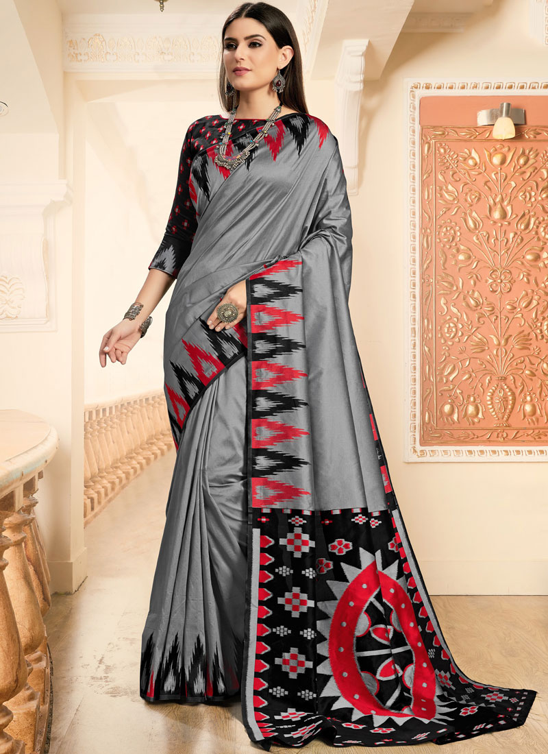 Invigorating Art Silk Designer Traditional Saree