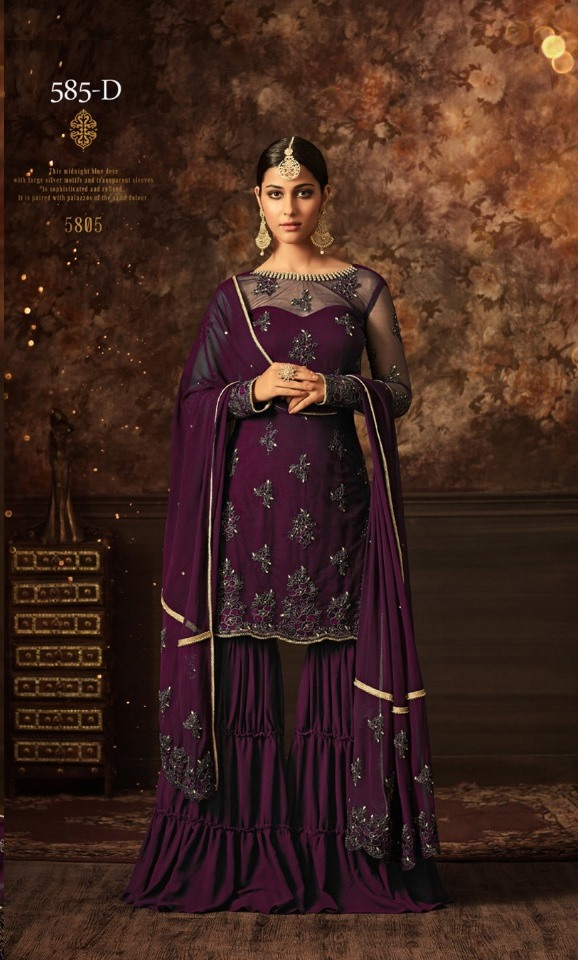 maisha softnet prapal sharara suit