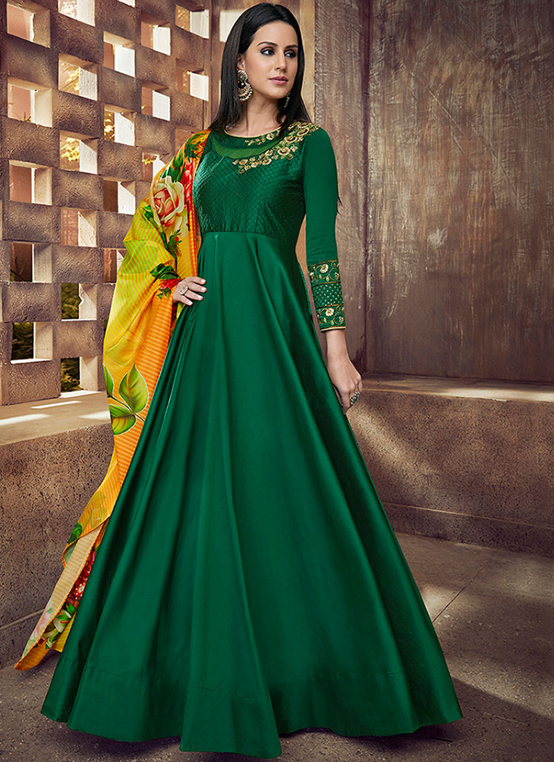 Mesmerizing Readymade Anarkali Suit For Party